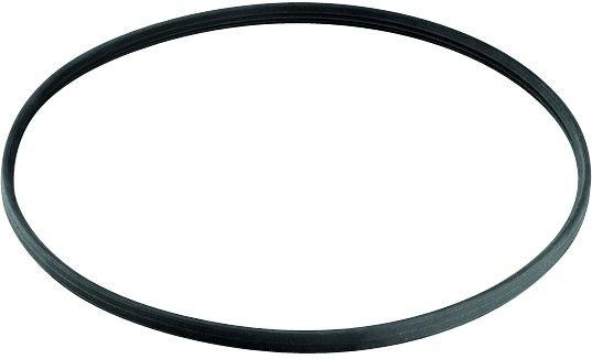Silikondichtung, schwarz, für doppelwandiges Rohr Ø 130mm