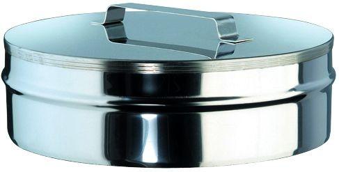 Verschlußdeckel für doppelwandiges Rohr Ø 150mm