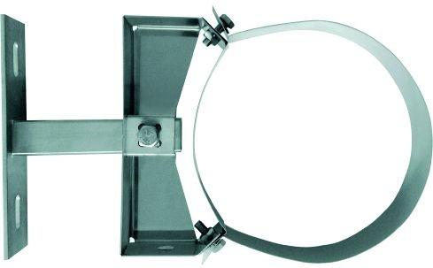 Wandabstandhalter 50-150mm, für doppelwand. Rohr Ø 130mm