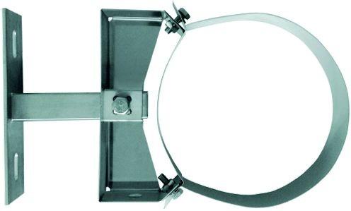 Wandabstandhalter verstellbar 150-250mm für dw.Rohr Ø 100mm