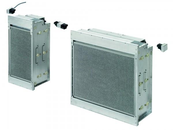 Elektrostatischer Filter für Fettpartikel