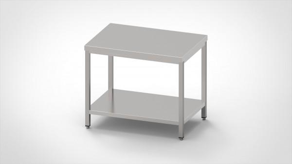 Arbeitstisch mit Grundboden, mit einer Tiefe von 600mm