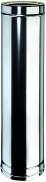 Doppelwandiges Rohr Ø 100mm, Länge: 1000mm