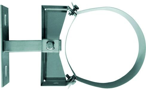Wandabstandhalter 50-150mm, für doppelwand. Rohr Ø 100mm