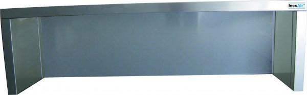 Aufsatzbord, 1 Etage geschlossene Rückwand