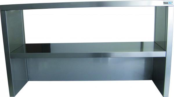 Aufsatzbord, 2 Etagen, geschlossene/offene Rückwand