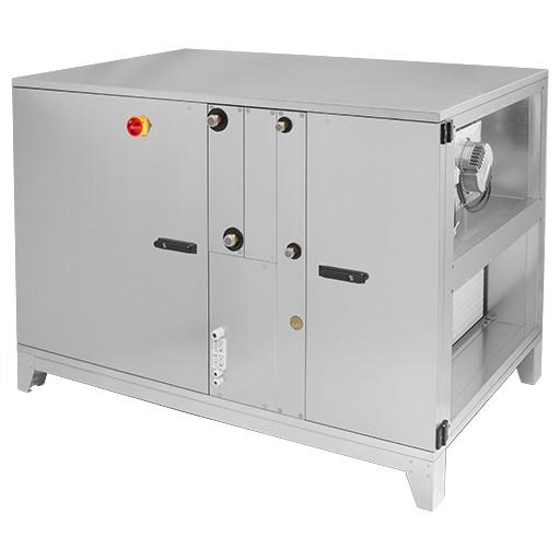 Wärmerückgewinnungsgerät mit Direktverdampfer, Ausführung links