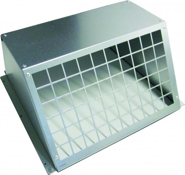 Wetterschutzhaube für Ventilatoren- absaugseitig