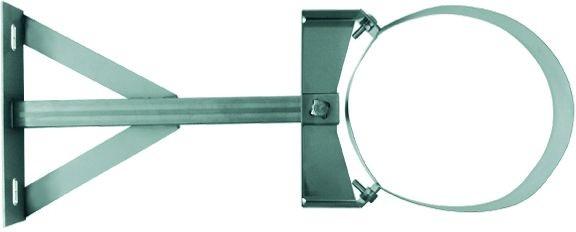 Wandabstandhalter verstellbar 250-360mm für DW Rohr Ø 130mm