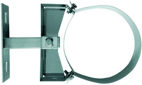 Wandabstandhalter verstellbar 150-250mm für dw.Rohr Ø 130mm