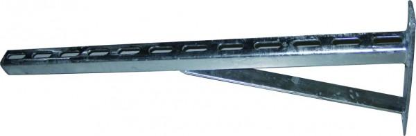 Wandkonsole, verzinkt, schwere Ausführung, ab 800mm Länge
