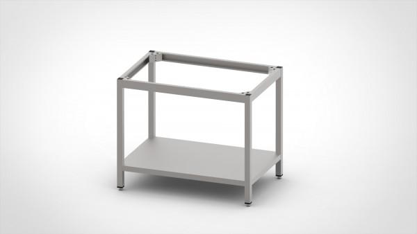 Tisch ohne Platte mit Grundboden, mit einer Tiefe von 560mm