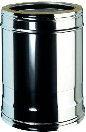 Schiebeelement für doppelwandiges Rohr Ø 130mm