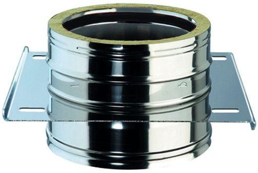 Zwischenstütze, für doppelwandiges Rohr Ø 130mm, unten offen