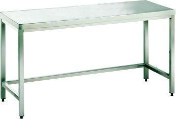 Arbeitstisch ohne Platte und Boden, mit einer Tiefe von 660mm