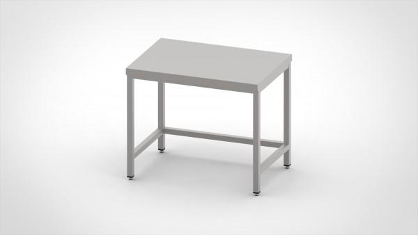 Arbeitstisch ohne Boden, mit einer Tiefe von 600mm