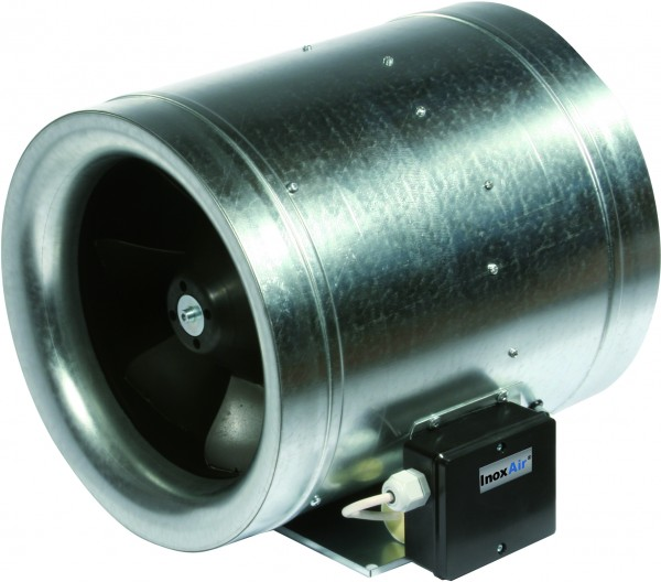 Power-Rohrventilator für Rohr, Motor AUßEN