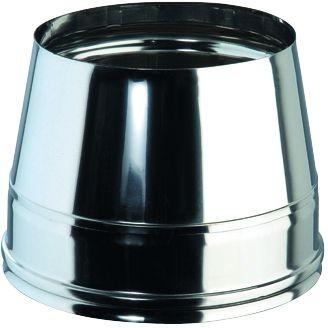Mündungsabschluß, konisch, für doppelwandiges Rohr Ø 130mm