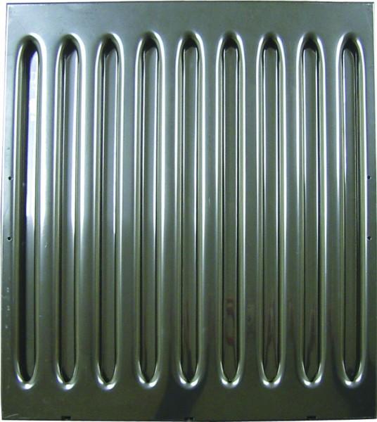 """Flammenschutzfilter Typ """"A"""", mit einer Stärke von 40mm, Höhe von 500mm, Breite ab 400mm"""