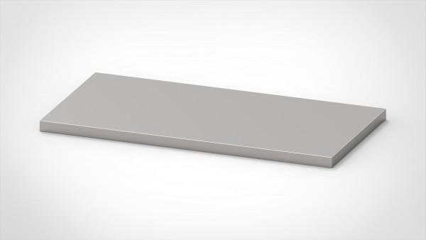 Arbeitsplatte 2mm, mit einer Tiefe von 800mm